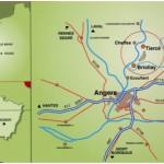 plan de situation d'Anjou Hortipôle